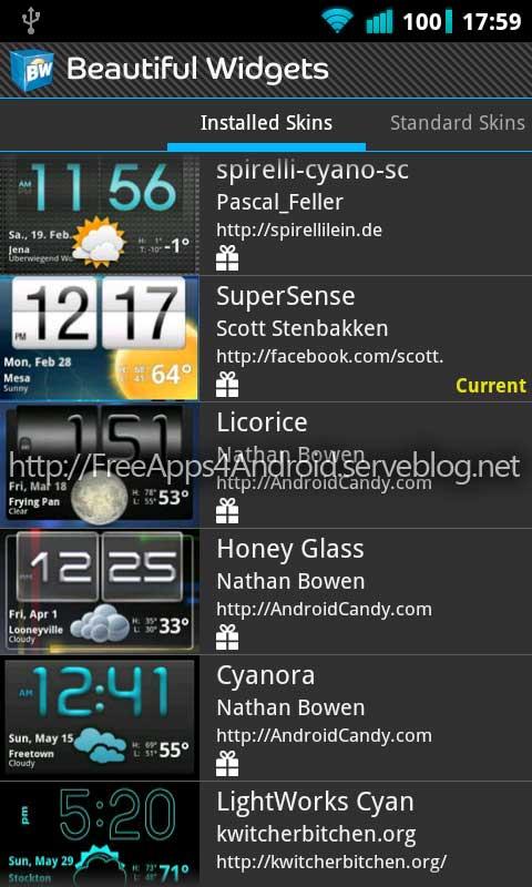 weather | Android ICS Revolution